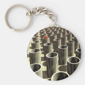 Viehhof der Zylinder Schlüsselanhänger