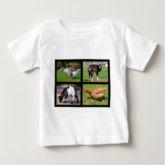 Viehmosaik Baby T-shirt