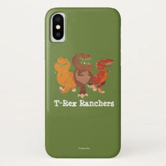 Viehzüchter-Gruppen-Grafik iPhone X Hülle