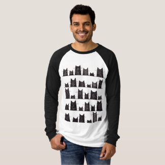 Viel Glück bezaubert langen Hülseraglan-T - Shirt