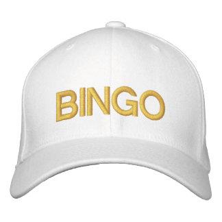 VIEL GLÜCK-BINGO kundengerechte Kappe bei Bestickte Baseballcaps