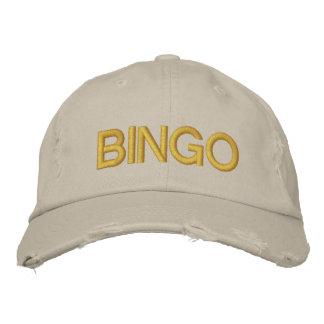 VIEL GLÜCK-BINGO kundengerechte Kappe bei Bestickte Mützen