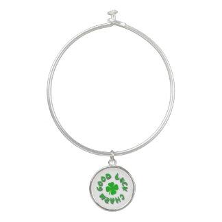 Viel Glück-Charme-Armband Armreif