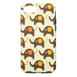 Viel Glückelefanten kawaii niedlicher Natur-Muster iPhone 8/7 Hülle