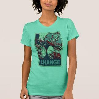 Viel versprechende Änderung T-Shirt