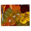 Viele bunte Gummibärchen Memo Board