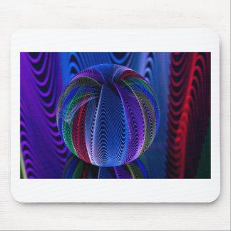 Viele Farben im Glas Mousepad