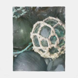 Viele Glasfischenflöße, Alaska Fleecedecke