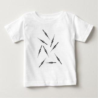 Viele kleine Hamburger Fernsehtürme Baby T-shirt