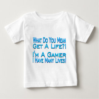 Viele Leben Baby T-shirt