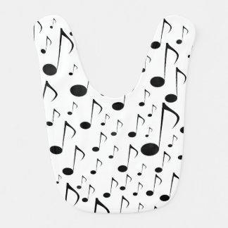 Viele musikalischen Anmerkungen Babylätzchen
