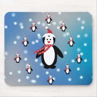 Viele Pinguine Mousepad