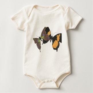 Viele Schmetterlinge Baby Strampler