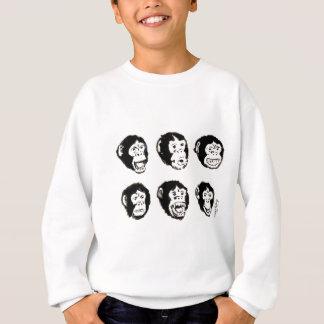 Viele Stimmungen von Herrn Chimp Sweatshirt