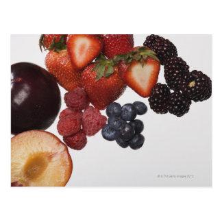 Vielzahl der Beeren Postkarte