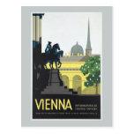 Vienna Austria - Vintage Travel Post Card