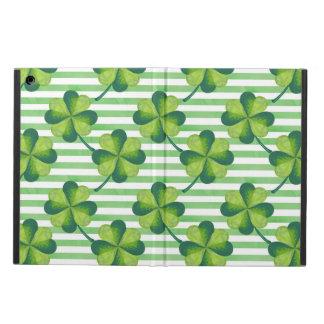 Vier Blätter-Klee-St Patrick Tagesmuster