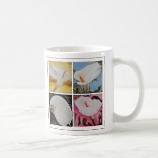 Vier Calla-Lilien Kaffeetasse