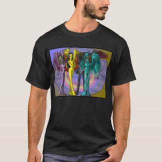 Vier Dämon-T - Shirt