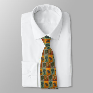 Vier Fossil Trilobite Herbst-Krawatte Bedruckte Krawatte