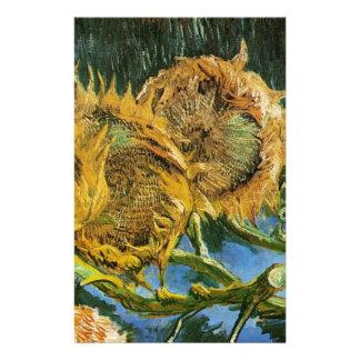 Vier geschnittene Sonnenblumen, Vincent van Gogh Briefpapier