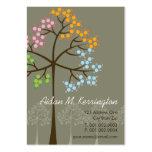 Vier Jahreszeit-Baum-Natur-WaldVisitenkarten Visitenkarten