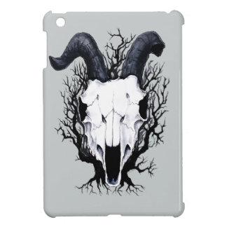 Vier Jahreszeit-Schädel: Winter-Schauer iPad Mini Hülle