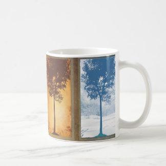 Vier Jahreszeiten Kaffeetasse