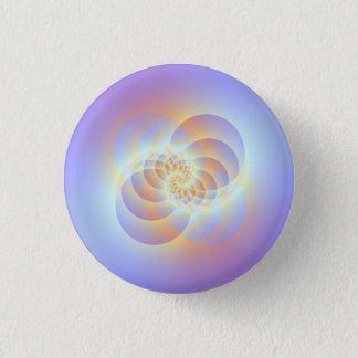 Vier Kreise winden sich Knopf Runder Button 3,2 Cm