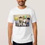 Vier lustige Katzen T-Shirts