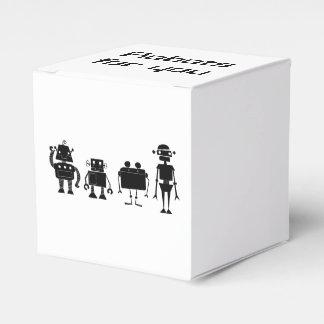 Vier Roboter Geschenkschachtel