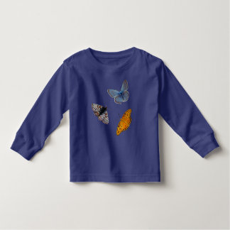 Vier seltene Schmetterlinge Kleinkind T-shirt
