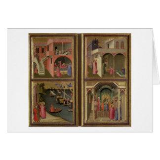 Vier Szenen vom Leben von Sankt Nikolaus: St.-NIC Karte