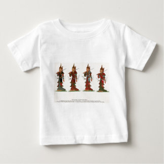 Vier Wächter-Könige Baby T-shirt