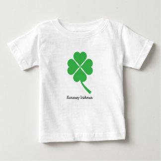 Vierblättriges Kleeblatt Baby T-shirt