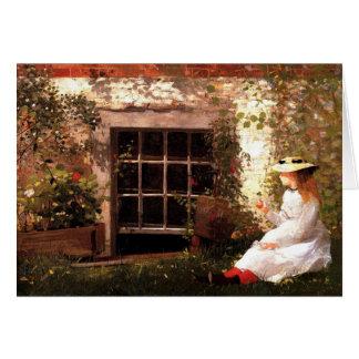 Vierblättriges Kleeblatt durch Winslow Homer Karte