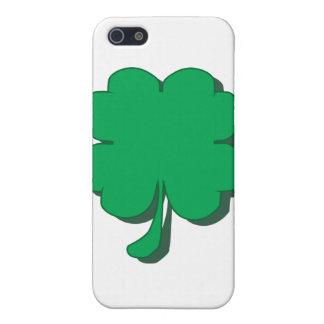 Vierblättriges Kleeblatt iPhone 5 Hülle