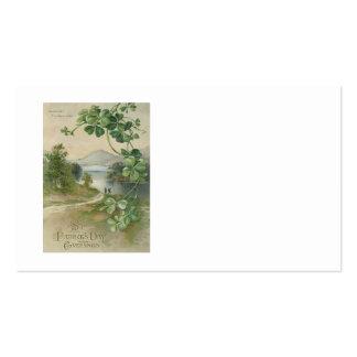 Vierblättriges Kleeblatt Killarney-Berg Visitenkarten