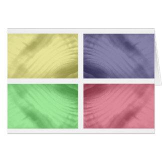 Viererkabel-Muster Karte