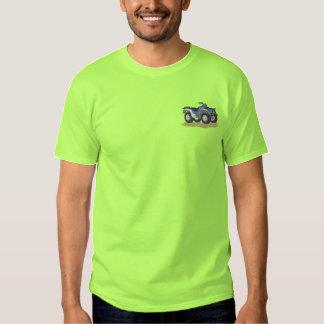 Viererverseilen Sie eine T V Besticktes T-Shirt