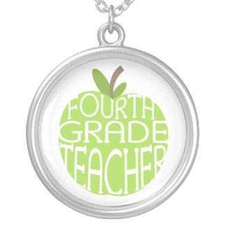 Vierte Grad-Lehrer-Halskette Halskette Mit Rundem Anhänger