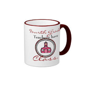 Vierte Grad-Lehrer-Tasse Ringer Tasse