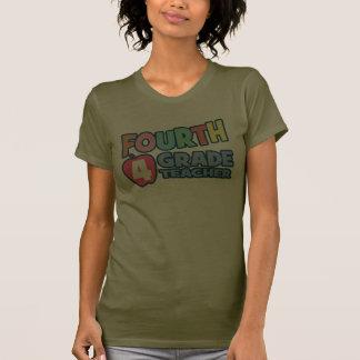 Vierter Grad-Lehrer-Damen-T - Shirt