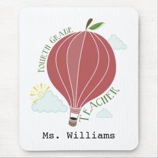 Vierter Grad-Lehrer-Heißluft-Ballon Apple Mousepad