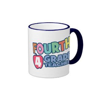 Vierter Grad-Lehrer Ringer Tasse