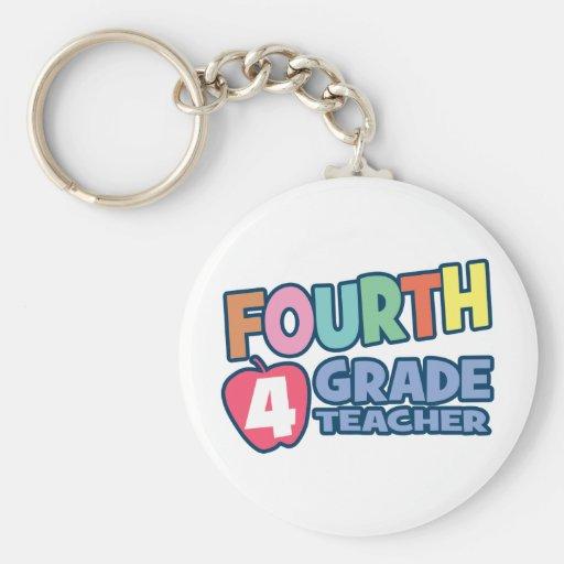 Vierter Grad-Lehrer Schlüsselbänder