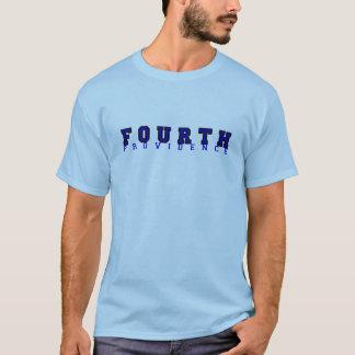 Viertes Grad-Blau T-Shirt