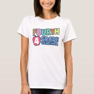Viertes Grad-Lehrer-Damen-Baby - Puppe (angepasst) T-Shirt