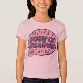 Viertes Grad-Shirt | lila u. rosa T-Shirt