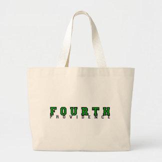 Viertes Grad-Taschen-Grün Jumbo Stoffbeutel